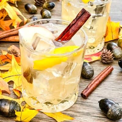 Whiskey Cider Sour