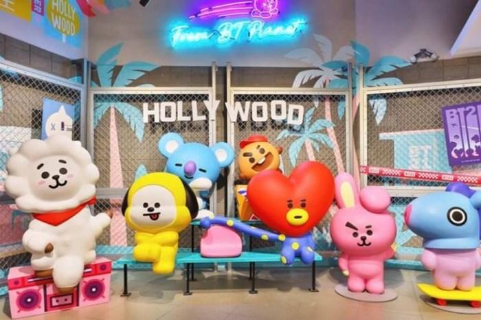 BT21咖啡廳【防彈少年團BTS X LINE FRIENDS】日本期間限定店萌夯開幕!