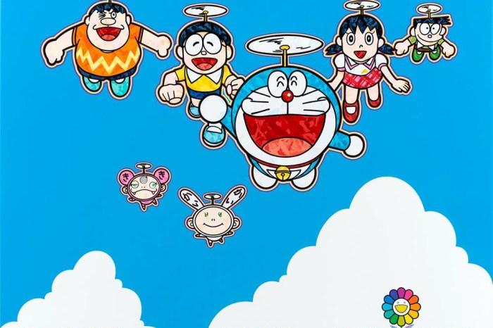 【村上隆X哆啦A夢】Superflat Doraemon「超扁平」個展,東京首波登場!