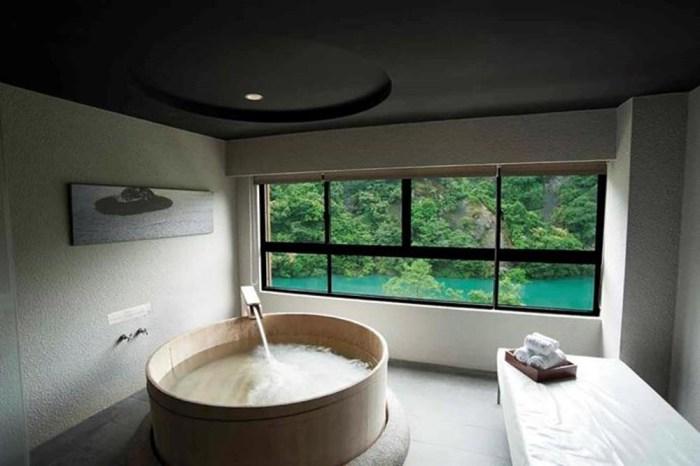 【烏來泡湯首選】烏來璞石麗緻溫泉會館:泡湯、賞溪、觀雲、與山林對話