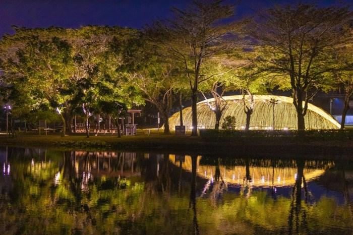 台南,月津港燈節,台南月津港燈節 2021,台南旅遊,月津港親水公園,月之美術館
