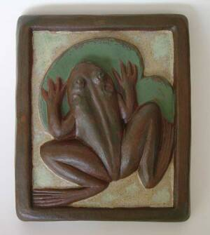clay work by Cedric and Christy Brown