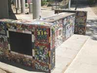 tile art project at 3R school