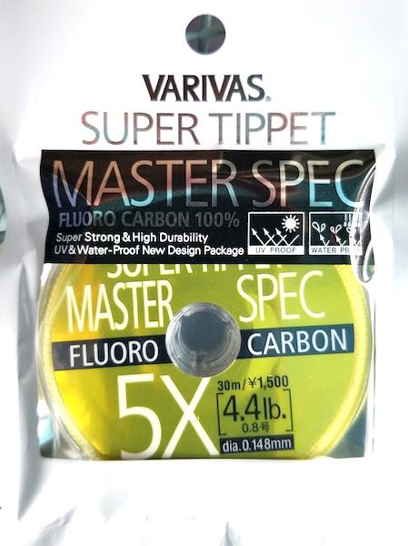 Varivas Super Tippet Master Spec fluorocarbone