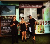 Three's food truck team!