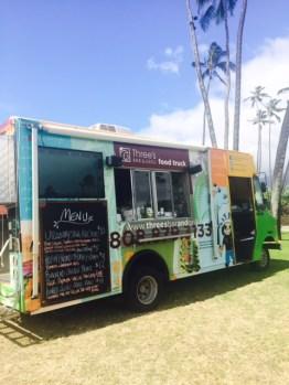 Three's food truck!