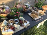 Spread of food at an event.