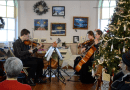 The gallery hosts Holiday Sounds of string quartet