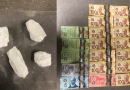 RCMP find Methamphetamine and cash in vehicle during patrol