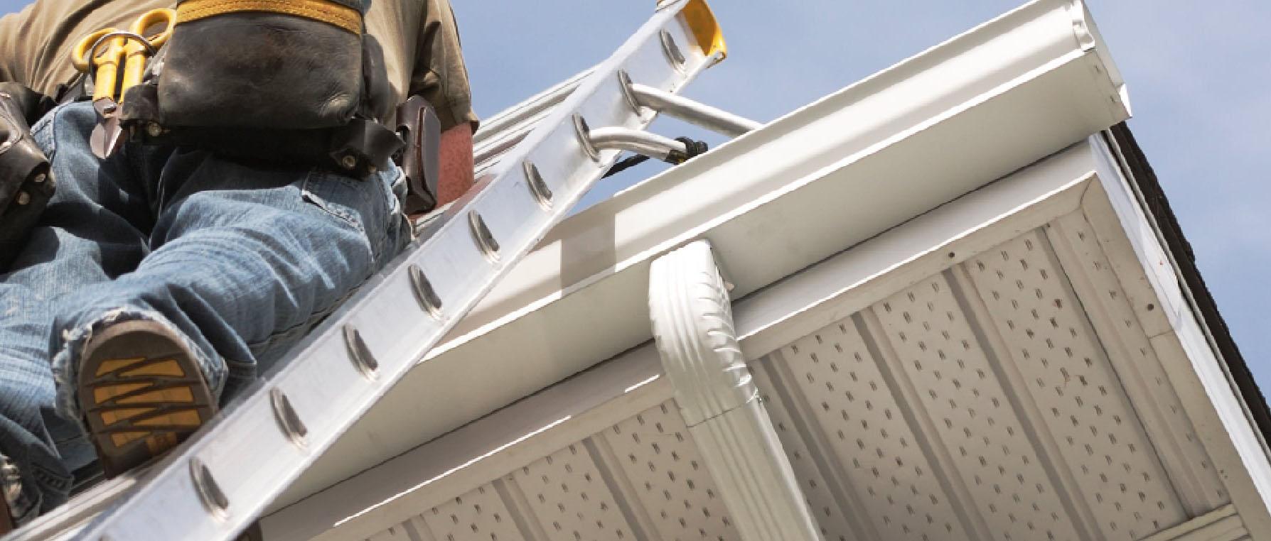 eavestrough contractors install ladder virden manitoba