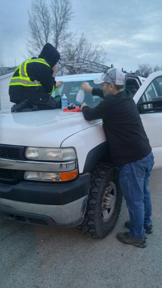 contractor eavestroughing leak repair install brandon virden