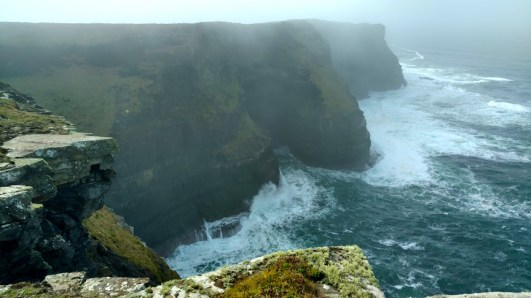 The Cliffs of Moher near Liscannor