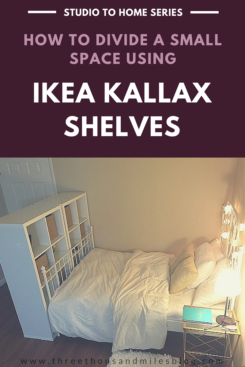 Studio To Home 4 IKEA KALLAX Room Divider Three