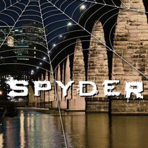 Spyder book cover