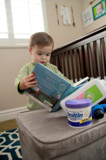 Three Whims: diaper rash cure