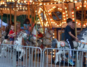 Children and rides, what every child should experience. Photo by Mike Hartley