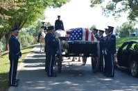 Burial detail at Arlington National Cemetery. Photo by Mike Hartley