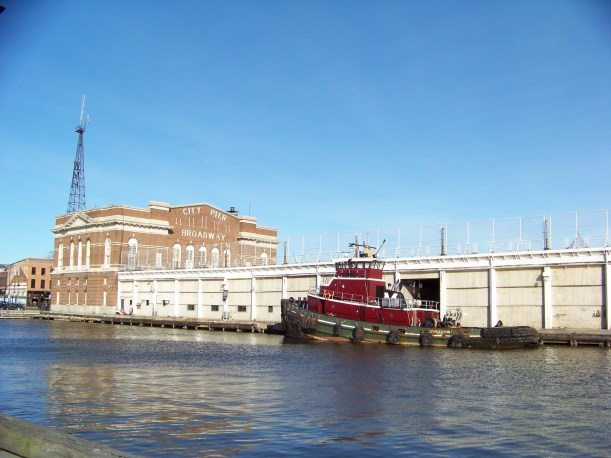 City Pier Photo by Mike Hartley