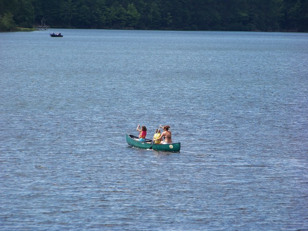 Nothing like a boat ride with the kids. Photo by Mike Hartley