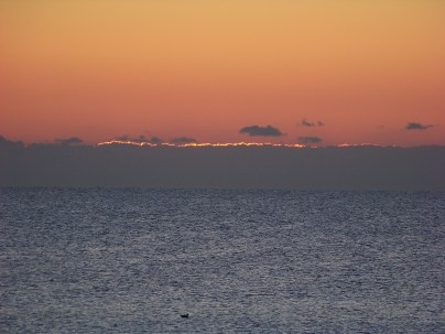 First sign of light Photo by Mike Hartley