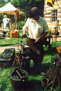 Blacksmith on Main Street Photo by Mike Hartley