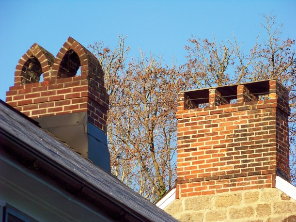 Chimneys on Main Street. Photo by Mike Hartley