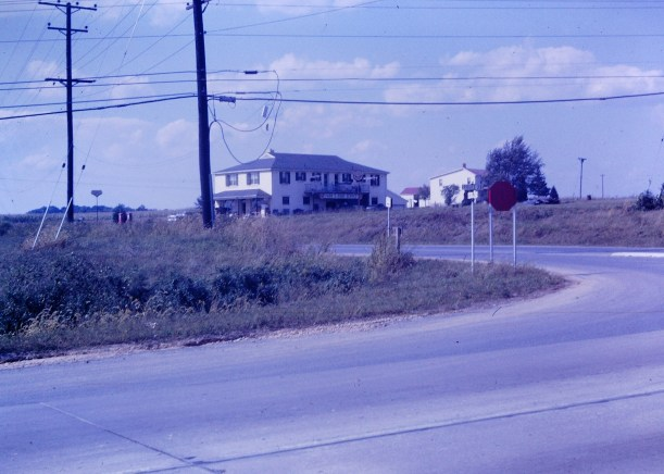 Looking across Route 29 to John Hopkins RD and the old Southern States store. Photo by James Hartley