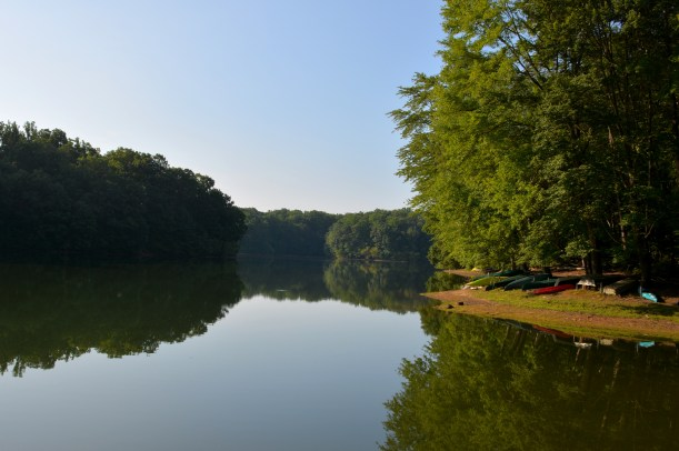 A peaceful morning at Rocky George  Photo by Mike Hartley