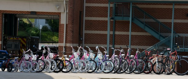 Bikes for all ages. Photo by Mike Hartley
