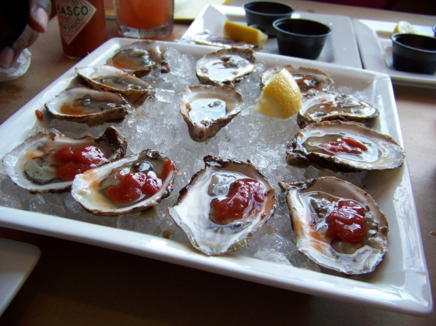 Right time, right place. Bethany Oyster House. Photo by Mike Hartley