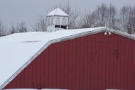Yeah, I'm starting to get some snow on my roof also. Photo by Mike Hartley