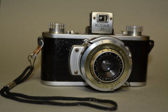 One of my first 35mm cameras, passed down from my parents. Photo by Mike Hartley