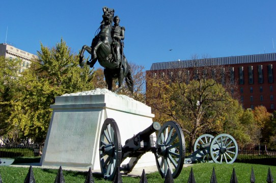 Jackson Statue Photo by Mike Hartley
