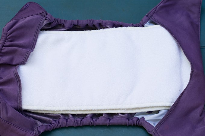 flip diaper with inserts