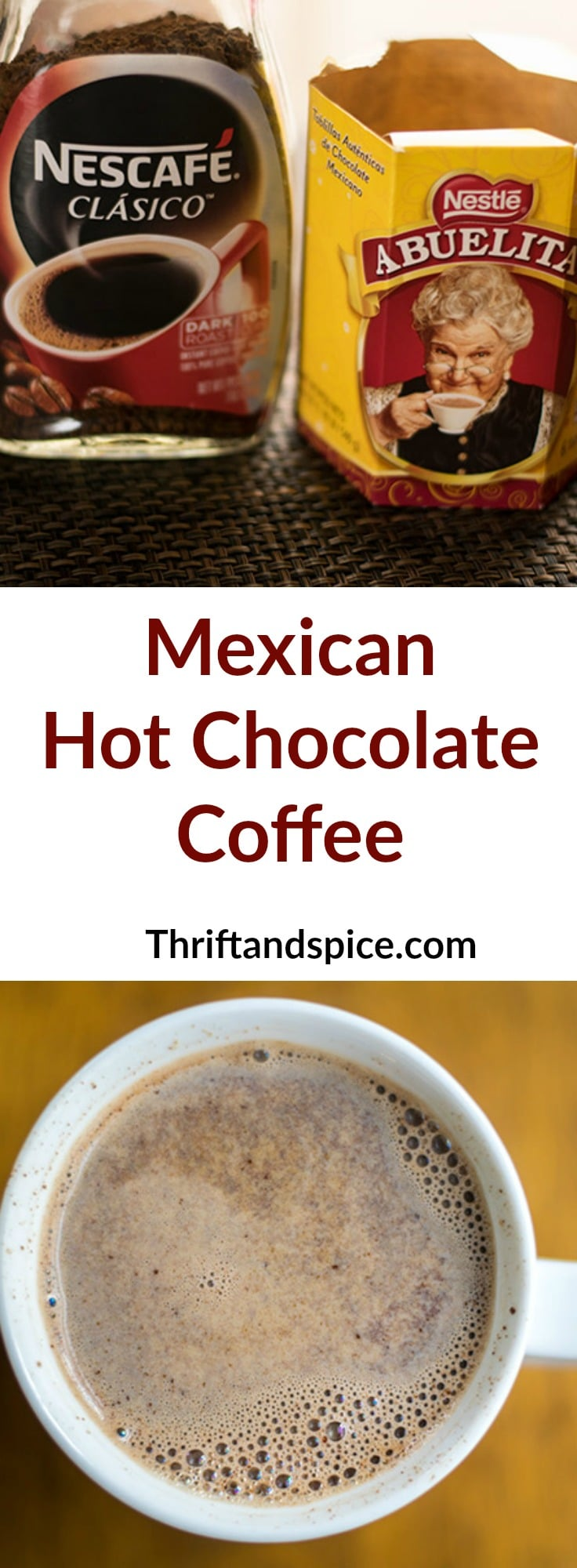 Mexican Hot Chocolate Coffee - Thrift and Spice