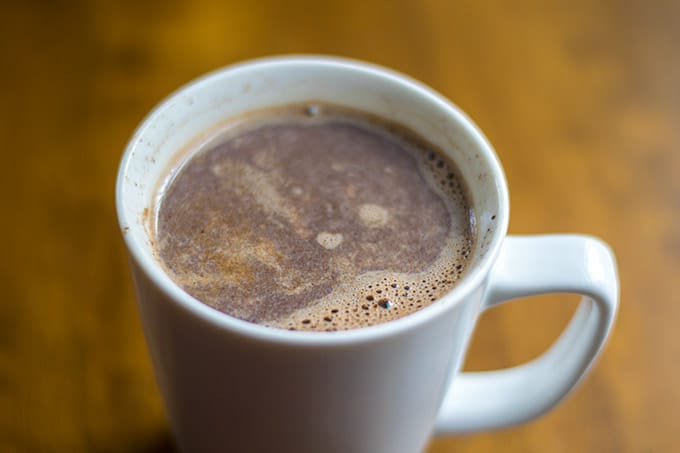 mexican hot chocolate coffee is a delicious combination of your two favorite things, chocolate and coffee!