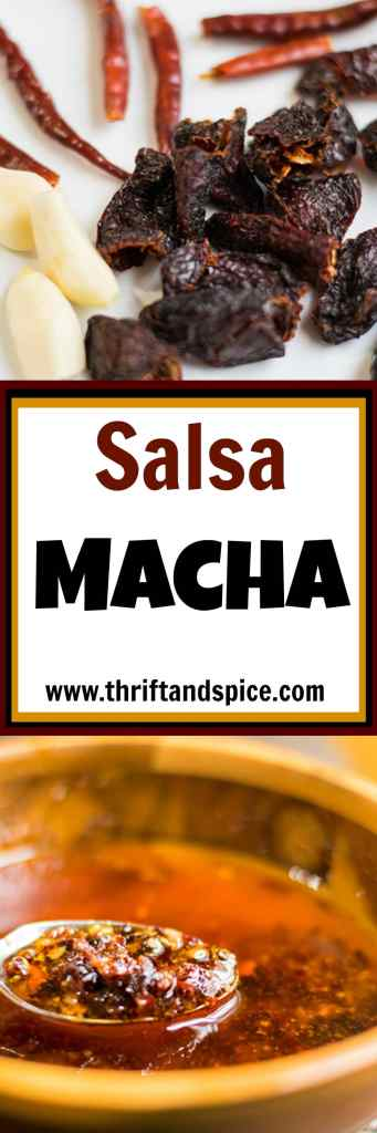 salsa macha is made with really simple ingredients but is big on flavor!
