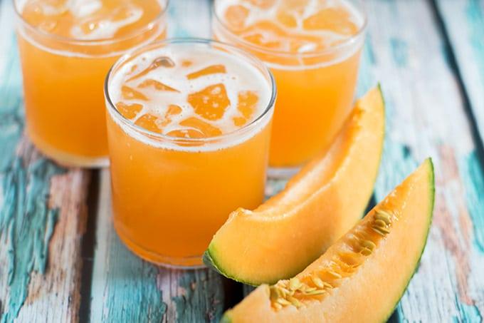 Cantaloupe Agua Fresca/Agua de Melon - Thrift and Spice