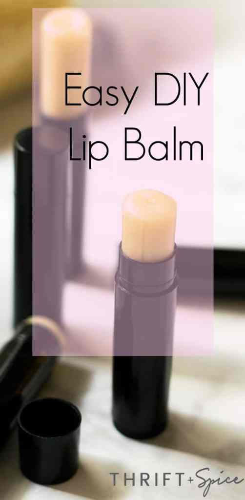 this easy diy lip balm is fun to make and is a great way to save money.