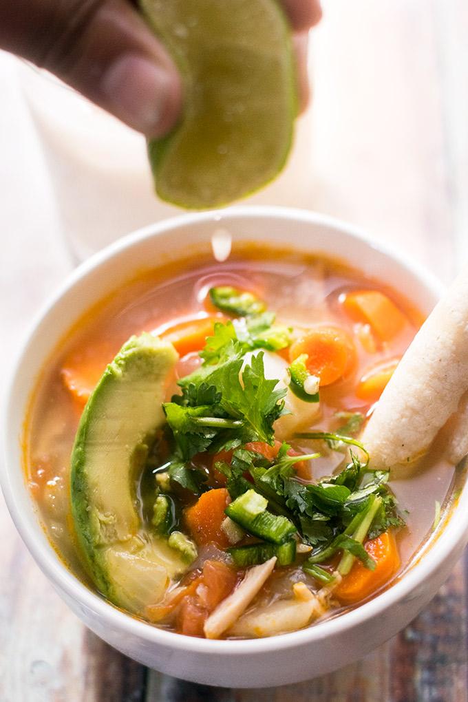 Mexican chicken soup recipes caldo