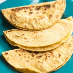 These cheese quesadillas make for an awesomely cheap snack! They are easy to make and have only two ingredients!