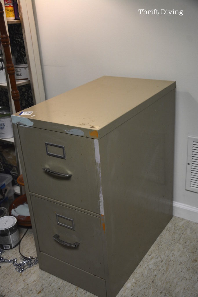 Before Amp Afters My Pretty Pink File Cabinets Thrift