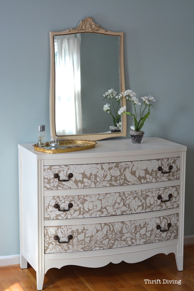 Dresser Chest Drawers Set