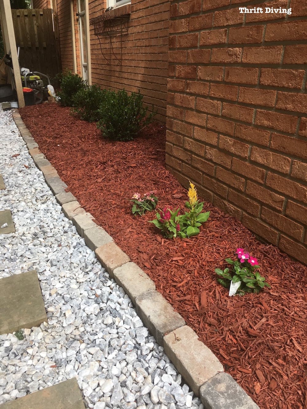 Patio Makeovers How To Build A Diy Stone Walkway With