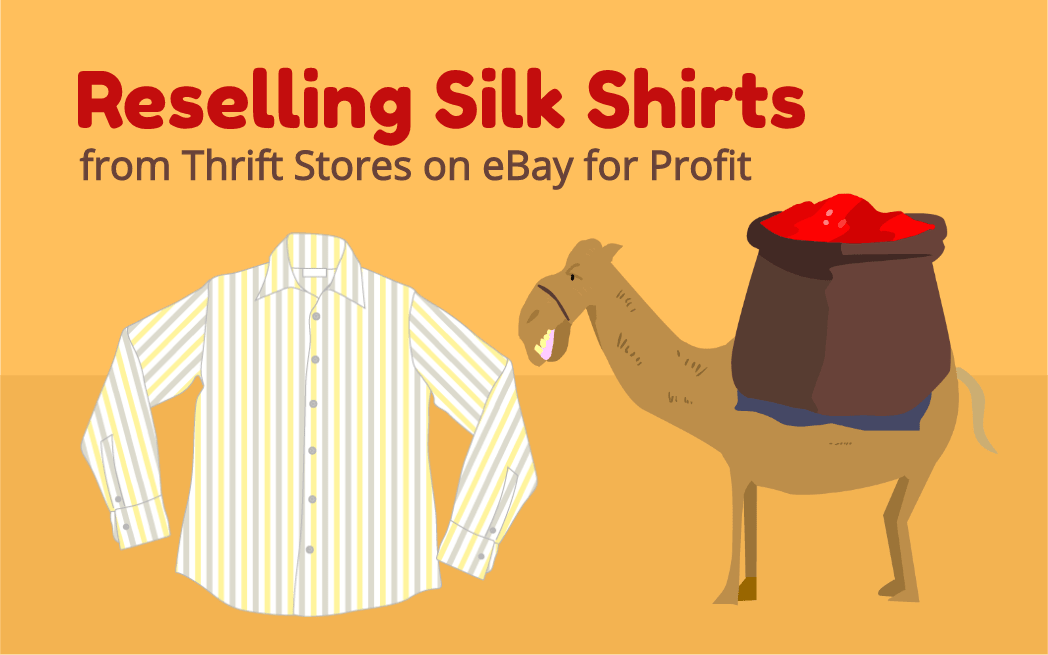 Reselling Silk Shirts from Thrift Stores on eBay for Profit