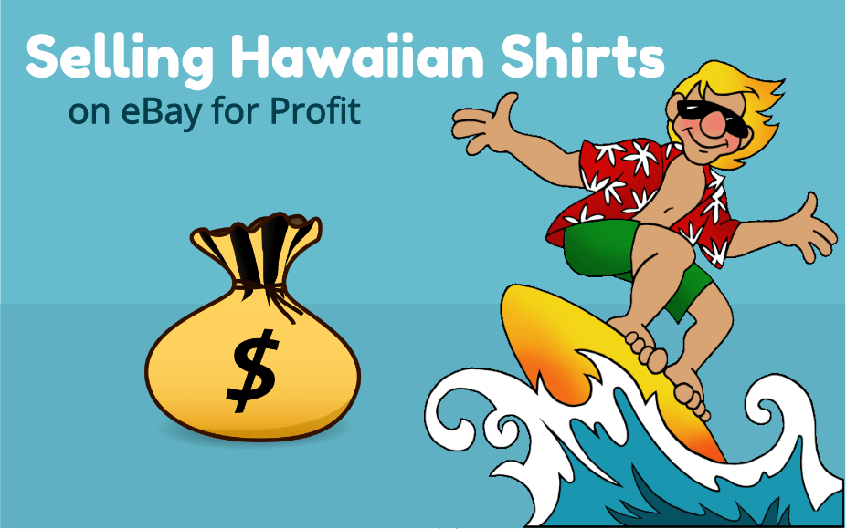 Selling Hawaiian Shirts from Thrift Stores on eBay for Profit