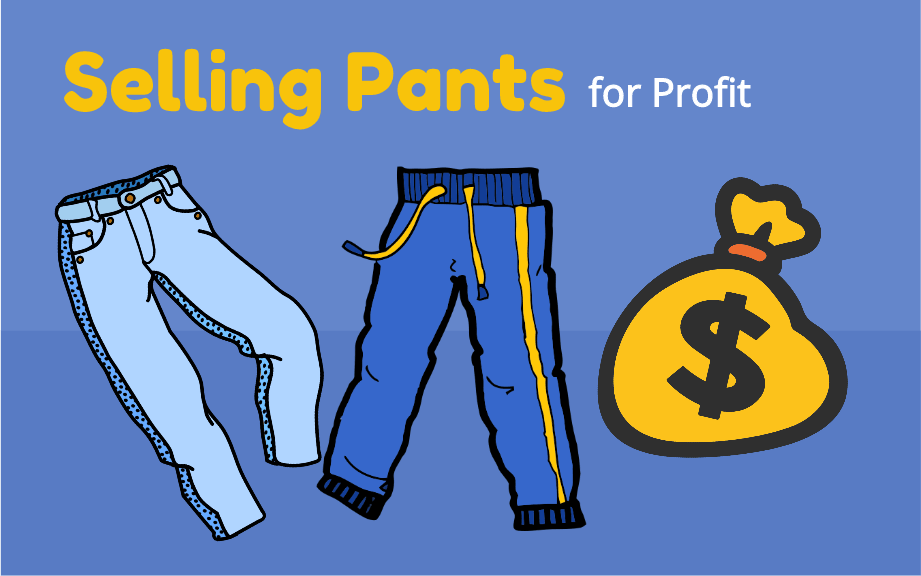 Selling Pants from Thrift Stores on eBay for Profit