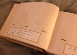 Inside Guest Book