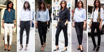 Emmanuelle Alt in uniform