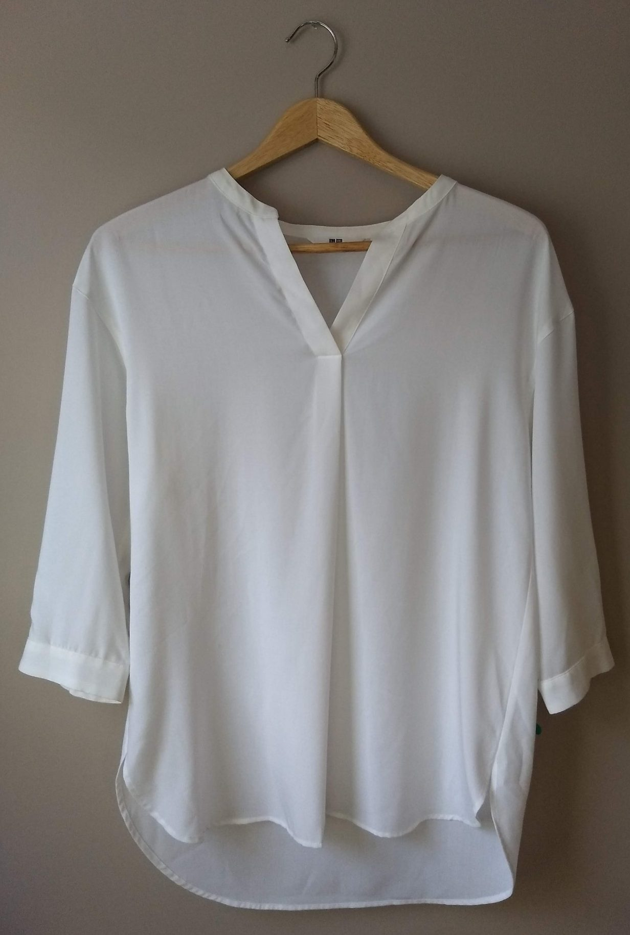 73cbf553651b But then I got home and opened my drawers and realized that I could have  created a very similar look using this long-sleeved white J. Jill tee from  my ...